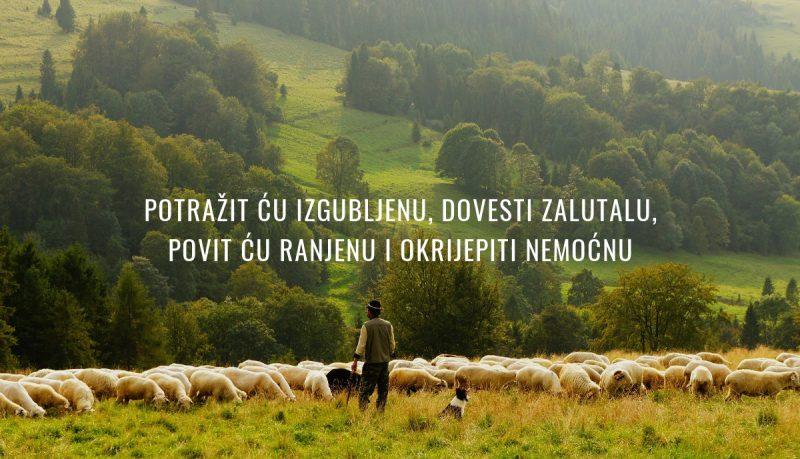 Isus je vjeran pastir